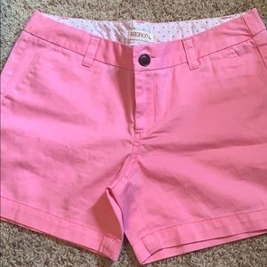 Size 4 pink shorts